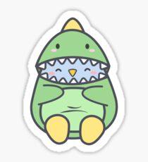 Piki is a Dinosaur Sticker