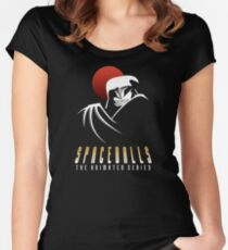 Spaceballs The Animated Series Women's Fitted Scoop T-Shirt