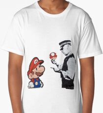 Mario Caught Long T-Shirt