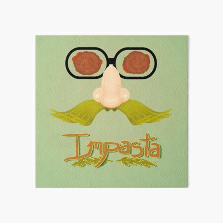 Impasta Art Board Print