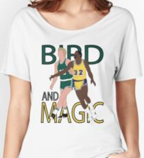 Larry Bird And Magic Johnson Women's Relaxed Fit T-Shirt