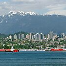 Majesty Of Vancouver Harbor by phil decocco