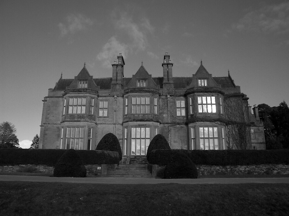 Muckross House in black and white by John Quinn