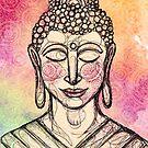 The Mindful Buddha by inkedinred