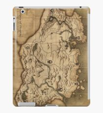 Map of Skyrim (The Elder Scrolls) iPad Case/Skin