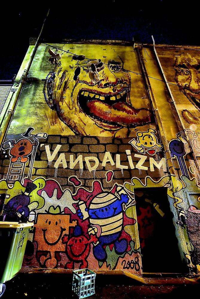Melbourne Street Art by Paul Louis Villani