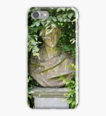 bust on a plinth overgrown  iPhone Case/Skin