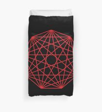 Interconnected Nonagon Shape Duvet Cover