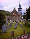 Carno Wales - St John the Baptist Church by Yukondick