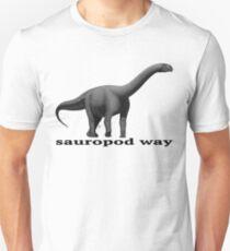 Sauropod way b&w T-Shirt