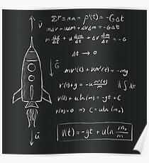 Raketenwissenschaft Poster