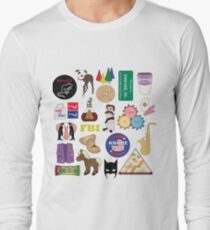 Parks and Rec Flatlay Long Sleeve T-Shirt