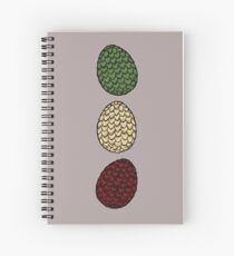 Game of Thrones dragon eggs Spiral Notebook
