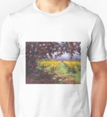 Fall Vineyard Painting T-Shirt
