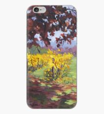 Fall Vineyard Painting iPhone Case