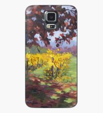 Fall Vineyard Painting Case/Skin for Samsung Galaxy