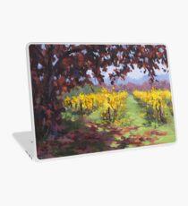 Fall Vineyard Painting Laptop Skin