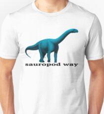 Sauropod way blue T-Shirt