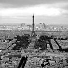 Eiffel Tower / Tour Eiffel - Paris, France by Buckwhite