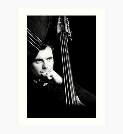 Un homme, 4 cordes...une symphonie! (02) Art Print