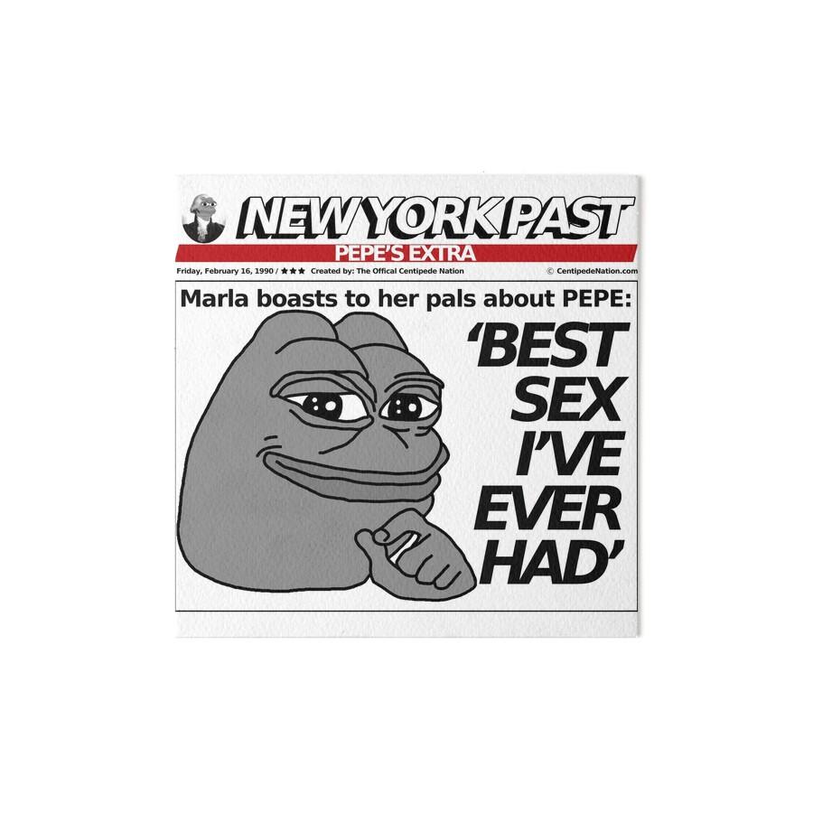 "trump nypost - best sex i've ever had"" art boardscentipedenation"