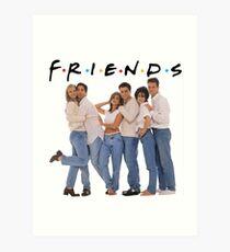 friends cast Art Print