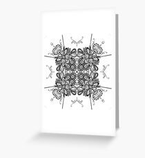 Tangled Vines  Greeting Card
