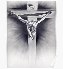 Cristo-Dalì Poster