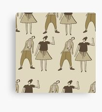 Young guys Canvas Print