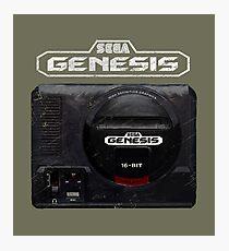 Vintage Genesis 16 Bit V01 Photographic Print