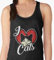 I Love Cats, Kitten Gifts, For the Feline Lover T-Shirt