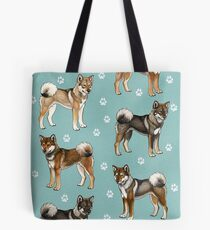 Shikoku Are My Number Wan! (Teal) Tote Bag