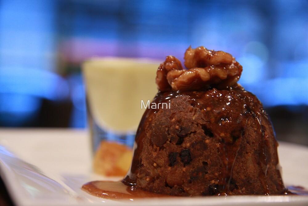 Fig & Walnut Pudding by Marni