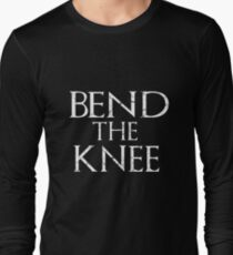 Bend The Knee Game Of Thrones Fan T-Shirt