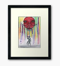 Ghost In The Shell Inspired Piece Framed Print