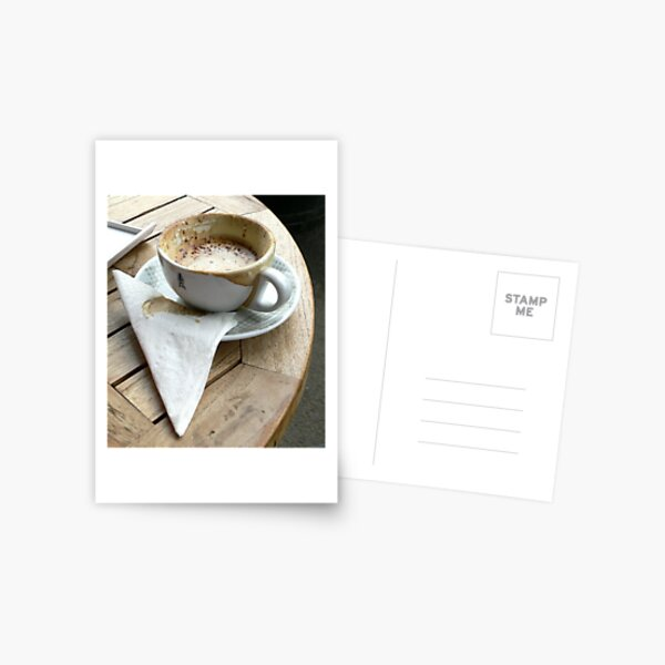 Cafe Society Postcard