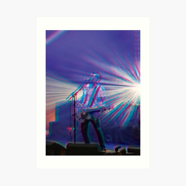 Liam Fray, Courteeners 3D style  Art Print