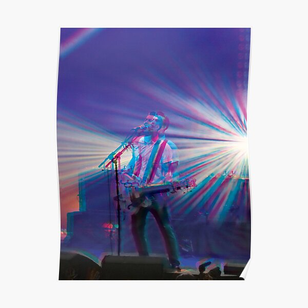Liam Fray, Courteeners 3D style  Poster