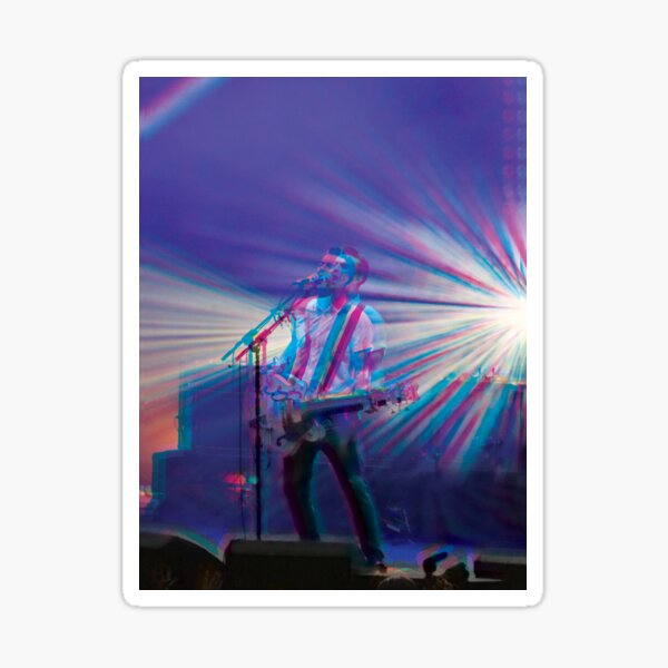 Liam Fray, Courteeners 3D style  Sticker