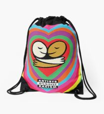 Bright Heart Love-olution  Drawstring Bag