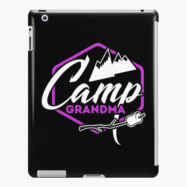 Camp Grandma Outdoors Gifts iPad Snap Case