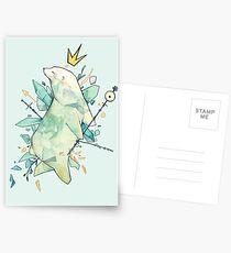 Polar bear king Postcards