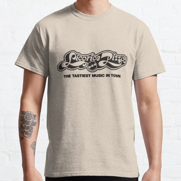 Licorice Pizza T-Shirt : Defunct Record Company Tshirt - Music Memorabilia Shirt Classic T-Shirt