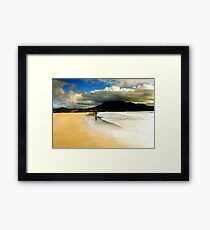 H Donegal Framed Print