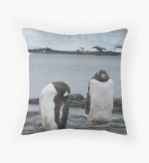 Penguin I Throw Pillow