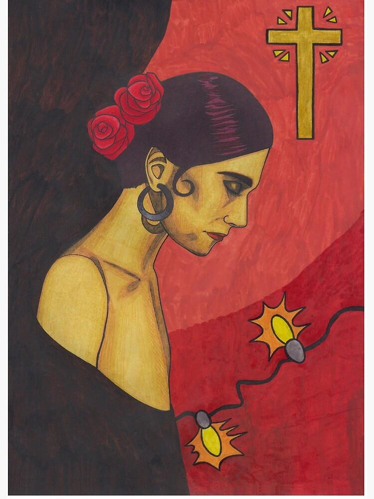 Surfer Rosa Luxemburg Art Board Print By Cloverswine Redbubble