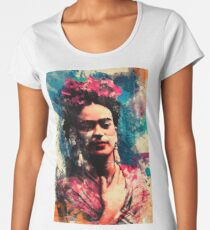 Frida Kahlo Women's Premium T-Shirt