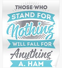 Those who Stand for Nothing Poster