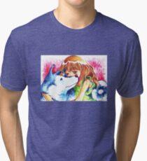 man's best friend Tri-blend T-Shirt