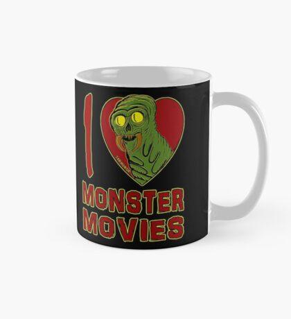 Me encantan las películas de monstruos Taza